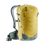 Deuter Flyt 14, plecak rowerowy z protektorem, turmeric-ivy