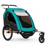 Burley Encore X, przyczepka rowerowa dla 1 lub 2 dzieci